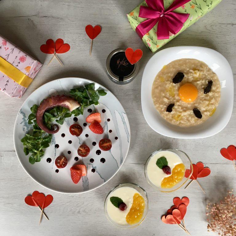 Lo tiene todo: Menú romántico gourmet fácil y rápido