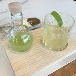 Coctel de Martini citronela y jengibre
